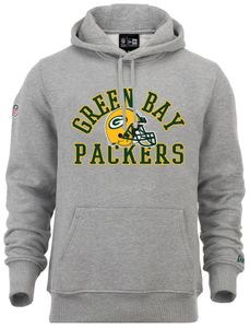 New Era - NFL Green Bay Packers College Hoodie - Grau : XXL Größe: XXL