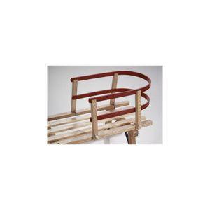 Sirch 109/P Schlittenlehne Holz-Kunststoff