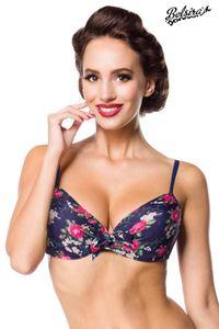 Swim Bra Bikinioberteil, Farbe: Pink/Blau, Größe: M