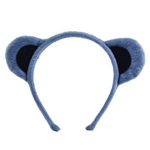 Bristol Novelty Tier-Ohren-Haarreif BN159 (Einheitsgröße) (Grau)