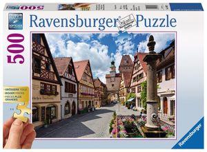 500 Teile Ravensburger Puzzle Gold Edition Rothenburg ob der Tauber 13607