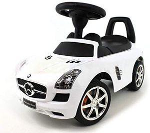 Kinderfahrzeuge Kinderauto Rutschauto Rutscher Spielzeug für Kinder Spielzeugauto (White Mercedes)