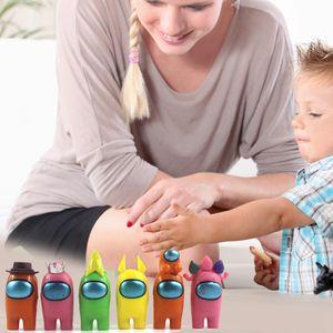 6 Stück Among Us Baustein Spielzeug Kindergeschenk 37*24.5cm