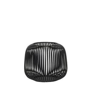 Blomus Laterne LITO schwarz Stahl pulverbeschichtet Durchmesser 20,5 cm
