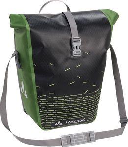 VAUDE Aqua Back Print Gepäckträgertasche Single black/green