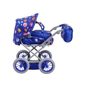Knorrtoys 63112, Puppen-Kinderwagen, Blau, 1 Sitz(e), Kinder, Mädchen, 510 mm