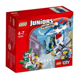 LEGO® Juniors Verfolgung mit dem Polizeihelikopter 10720