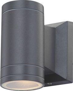 Globo Gantar Außenleuchte Aluminium Druckguss Grau, 1xGU10 LED; 32028