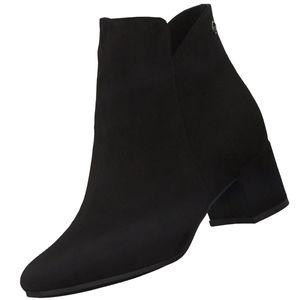 Tamaris Damen Elegante Stiefelette 1-25372-27 Schwarz 001 Black Textil mit TOUCH-IT & ANTI-Slide Absatz, Groesse:40 EU