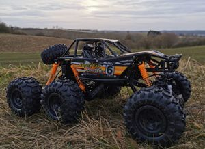 RC Rock Crawler SUPER SCORPION 6x6 Allrad ferngesteuerter Monster Truck 2,4 Ghz.