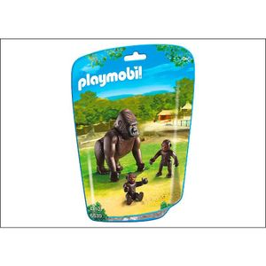 PLAYMOBIL - Gorilla mit Babys  (6639)