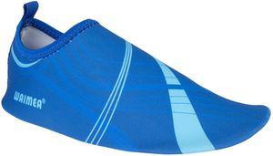 Waimea Aquaschuhe Wasserschuhe Badeschuhe Waterflow Blau Schuhe, Größe:28