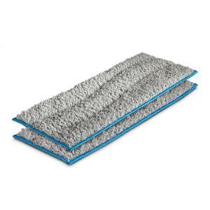 iRobot 15285 waschbare Nasswischtücher für m6 2er Pack, Farbe:Grau/Blau