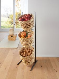 "Korbständer ""Baskets"", Maße: 33 x 35 x 114 cm, Korb 34 x 25 cm"