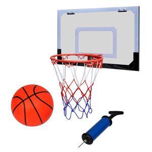 dereoir Mini Basketballkorb Set mit Ball und Pumpe- Innenbereich