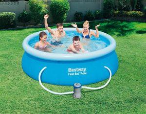 Bestway Fast Set™ Pool Set 244x66 cm, mit Filterpumpe