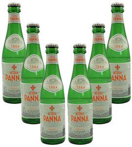 Acqua Panna 6er Set Stilles / Natürliches Wasser 6x 0,25l inkl. Pfand MEHRWEG