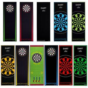 Dart Darts Teppich Dartteppich Dartmatte 237x80 cm Steeldart Dartpfeile Dartboard Zubehör Abwurflinie Schutz Gummi Dartscheibe verschiedene Designs Kingpower, Design:Design 11