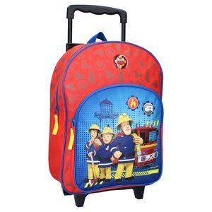 Feuerwehrmann Sam Trolley Koffer Rucksack Kindertrolley Handgepäck Junge Mädchen