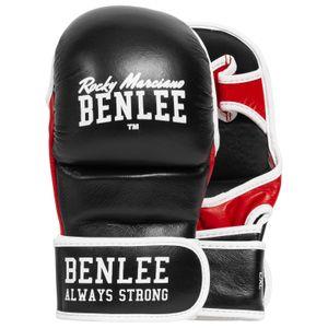 BENLEE Rocky Marciano Sparring Boxhandschuhe Uni – Erwachsene Schwarz, Größe:S/M
