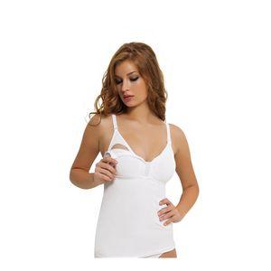 Damen Still BH Unterhemd Unkompliziert Stiltop T-Shirt Umstandsmode 3050