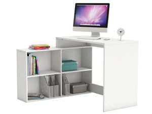 """Eckschreibtisch Schreibtisch Arbeitstisch Bürotisch Tisch """"Dewirovo I"""" (Weiß)"""