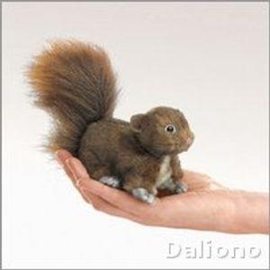 Folkmanis Fingerpuppe mini Eichhörnchen 2735