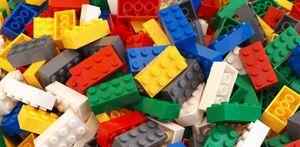 Lego© Steine 100 bunt gemischte originale basic Bausteine mit 2*4 Noppen *neu und unbespielt*
