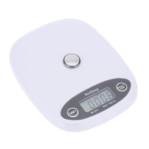 Mini Elektronische Waage professionelle digitale Pocket Scale Kueche Massstab Lebensmittel wiegen Tool Orange/weiss