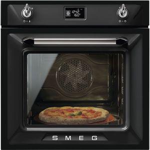 Smeg sfp6925npze1 Elektrobackofen 65L 3000W zu + Black Oven