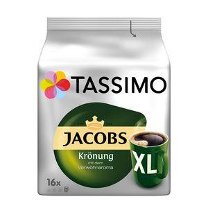 Tassimo Jacobs Krönung XL | 16 T Discs, Kaffeekapseln