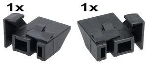 Träger Aufhängung Türglashalter Türglasaufhängung Original Amica 8028446 rechts und links 8028448 Backofentürscheibe Backofen Herd