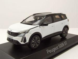 Norev 473926 Peugeot 5008 GT Black Pack weiss 2020 Maßstab 1:43 Modellauto