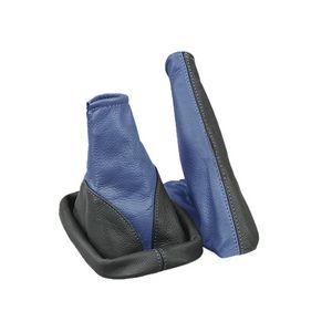 Schaltsack + Handbremssack passend für Opel Astra G Bj. 1998-2009 Schwarz-Blau