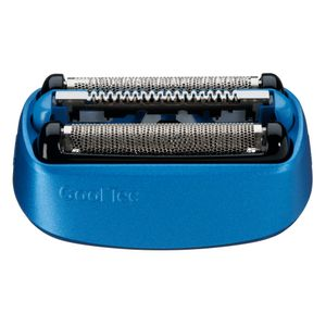 Braun Elektrorasierer Ersatzscherteil 40 B Blau – Kompatibel mit CoolTec Rasierern