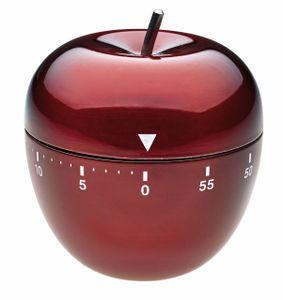 TFA 38.1030.05 Apfel Küchen-Timer schwarz, KB-TFA
