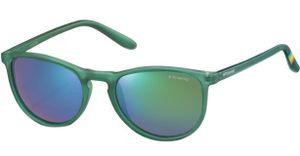 Polaroid sonnenbrille 8016/SUJO/JY junior wayfarer blau/blau