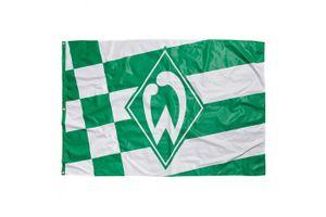 Werder Bremen Hissfahne, kl. Raute 180x120cm
