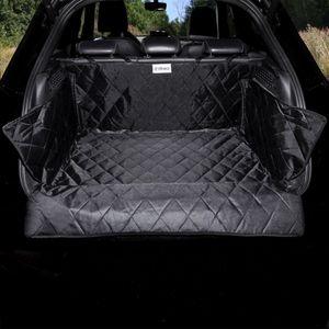 dibea Kofferraumdecke für Hunde, Autodecke wasserabweisend mit Ladekantenschutz und Seitenschutz, Größe 154x103 cm