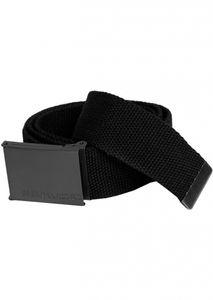 Urban Classics - TB305 Canvas Belt Gürtel One Size Black