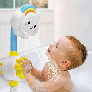 Nette Wolke Baby Badewanne Spray Spielzeug Kind Badezimmer Wasserdusche Geschenk Badewanne Spielzeug