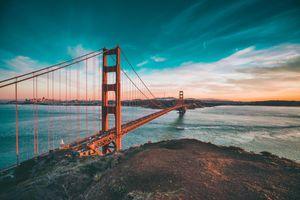 hansepuzzle 11229 Reisen - Golden Gate Brücke, 2000 Teile in hochwertiger Kartonbox, Puzzle-Teile in wiederverschliessbarem Beutel.