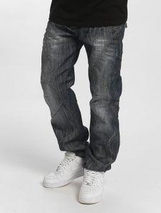 Cipo & Baxx Herren Straight Fit Jeans Leon Classic Fit  in blau Cipo & Baxx