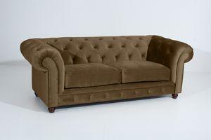 Max Winzer Orleans Sofa 2,5-Sitzer - Farbe: sahara - Maße: 216 cm x 100 cm x 77 cm; 2911-3000-2044253-F07