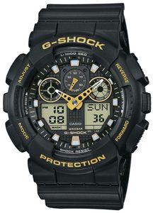 Casio G-Shock Uhr GA-100GBX-1A9ER Herrenuhr AnaDigi Uhr
