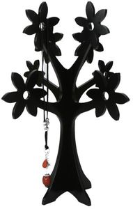 XXL Schmuckbaum Holz, Farbe:schwarz