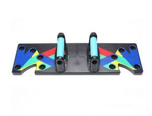 Push Up Board Das Ultra Push-Up-Bracket Board Portable Multifunktionales Muskeltraining System Mit Ständer Fitnessgerät Indoor Arm Training Equipment Outdoor Bauchmuskel
