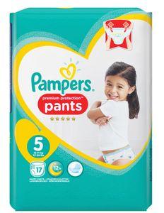 Pampers Windeln Premium Protection Pants Größe 5 Junior Babys von 12-17 kg 17 Stück