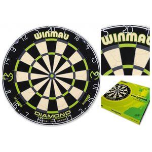 Winmau Dartboard MvG Diamond Edition Dartscheibe Dart Board Scheibe Steeldart