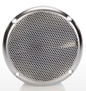 Eliga Lautsprecher für Sauna / Infrarotkabine / Dampfbad Ø90mm silber
